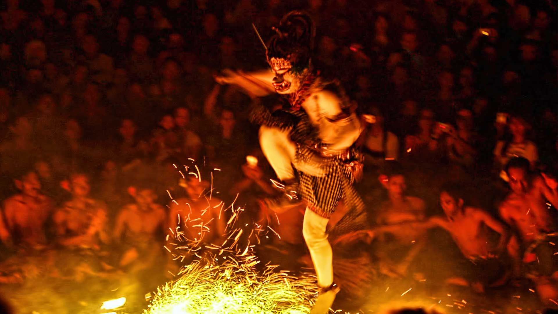 Monkey Fire Dances