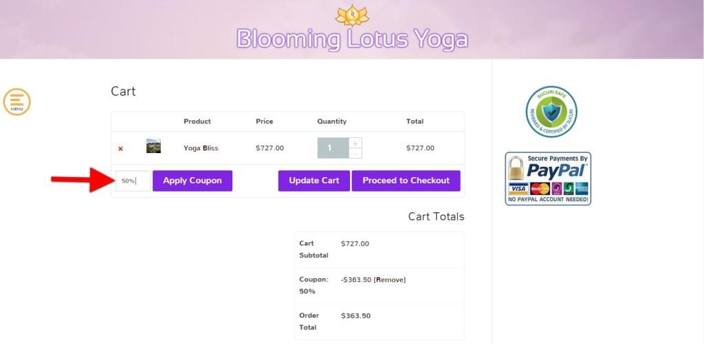 yoga retreat discount