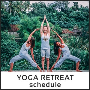 Ubud Indonesia yoga retreat Bali